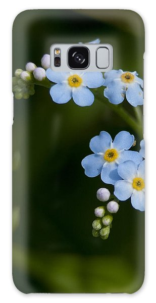 Forget-me-not Cascade Galaxy Case
