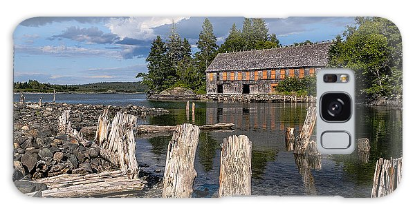 Forgotten Downeast Smokehouse Galaxy Case by Marty Saccone
