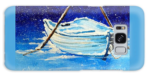 Forgotten Rowboat Galaxy Case by Jackie Carpenter