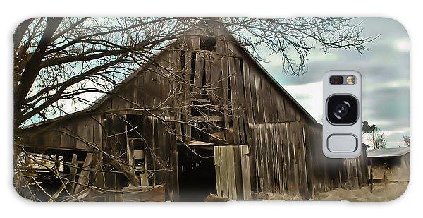 Forlorn Barn Galaxy Case by Greg Jackson