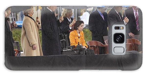 Former Us President Bill Clinton Galaxy Case by Panoramic Images