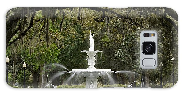 Forsyth Park Fountain - D002615 Galaxy Case