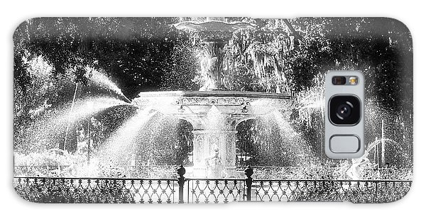 Forsyth Park Fountain Galaxy Case by John Rizzuto