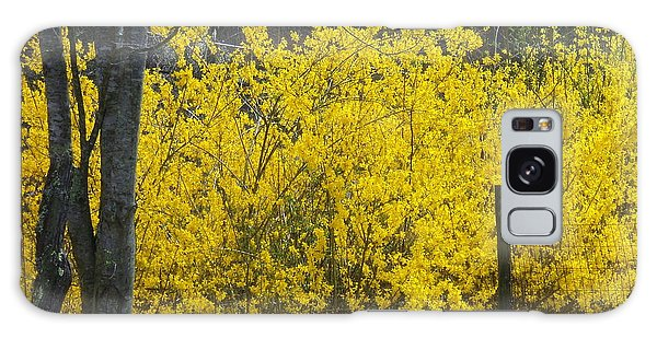 Forsythia Galaxy Case