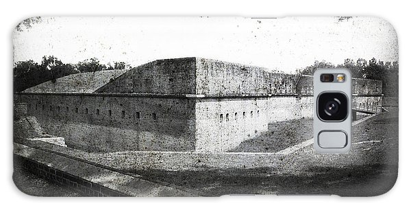 Fort Barrancas Faux Civil War Era Photograph Galaxy Case