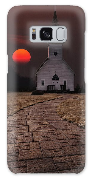 Fort Belmont Sunset Galaxy Case by Aaron J Groen