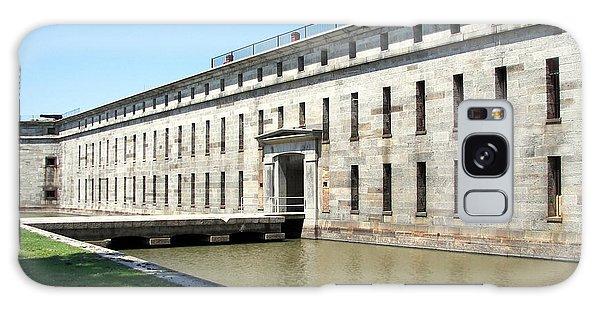Fort Delaware Sally Port Entrance Galaxy Case by Pamela Hyde Wilson