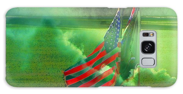 Fort Jackson Ceremony Galaxy Case by Cathy Lindsey