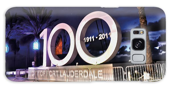 Fort Lauderdale At 100 Years Galaxy Case by Timothy Lowry