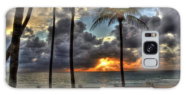 Fort Lauderdale Beach Florida - Sunrise Galaxy Case by Timothy Lowry