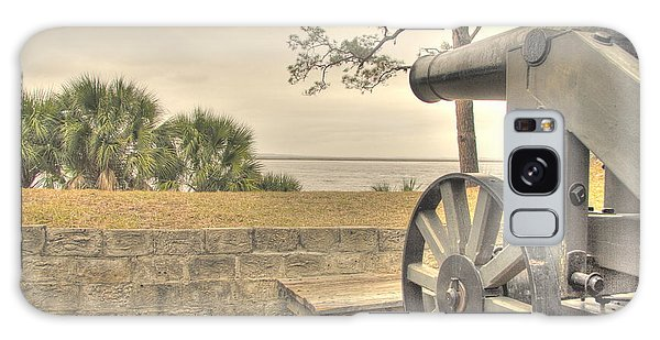 Fort Mcallister Cannon Galaxy Case