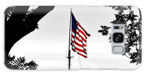 Fort Mchenry Flag Color Splash Galaxy Case