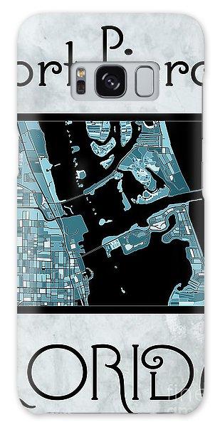 Fort Pierce Map No.4 Galaxy Case