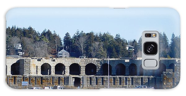 Fort Popham In Maine Galaxy Case