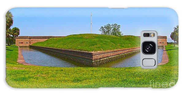 Fort Pulaski Moat System Galaxy Case by D Wallace