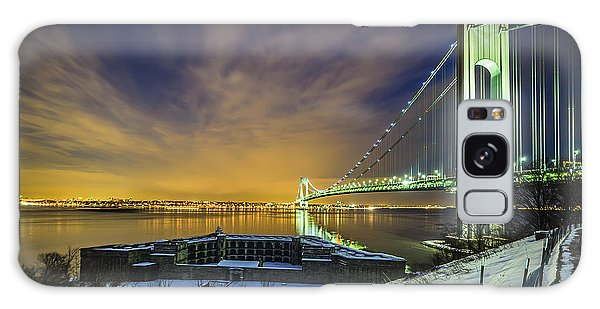 Fort Wadsworth And Verrazano Bridge Galaxy Case