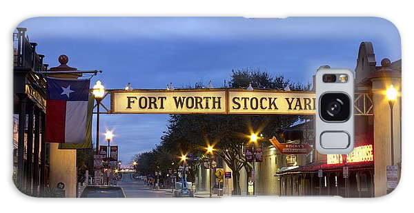 Fort Worth Stockyards Galaxy Case