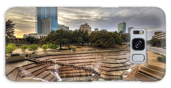 Fort Worth Water Garden Galaxy Case