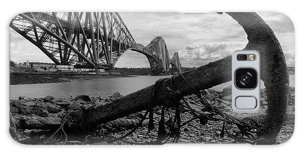 Forth Bridge Anchor Galaxy Case by Jeremy Voisey