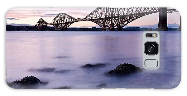 Forth Bridge At Sundown Galaxy Case