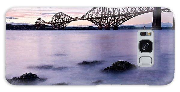 Forth Bridge At Sundown Galaxy Case by Stephen Taylor
