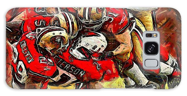 Forty Niners Galaxy Case by Carrie OBrien Sibley