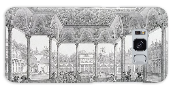 Decorative Galaxy Case - Fountain And Kiosk Of The Garden Of Choubrah by Pascal Xavier Coste