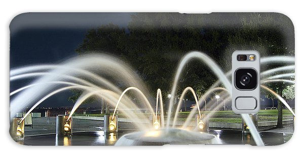 Fountain Charleston Waterfront Park Galaxy Case