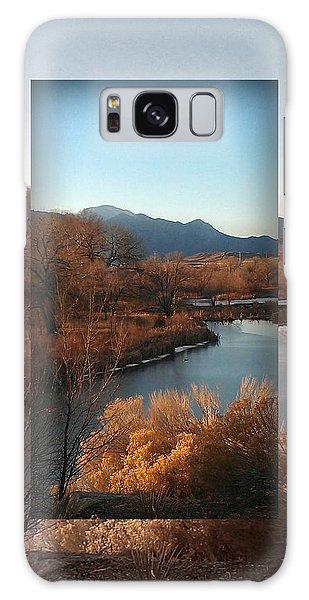 Fountain Creek To Pikes Peak Galaxy Case by Michelle Frizzell-Thompson