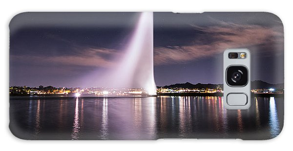 Fountain Hills At Night Galaxy Case by Michael J Bauer