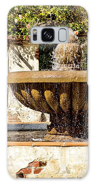 Fountain Of Beauty Galaxy Case by Peggy Hughes