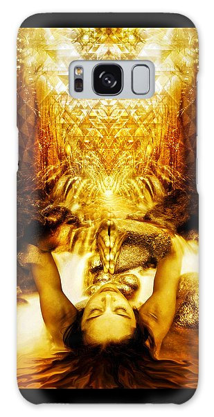 Fountain Of Boundless Love Galaxy Case by Jalai Lama