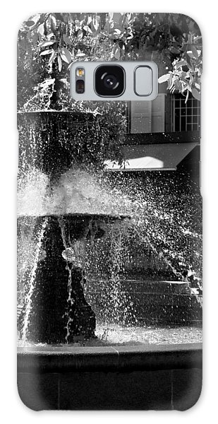 Galaxy Case featuring the photograph Fountain On Place Toulzac / Brive La Gaillarde by Barry O Carroll