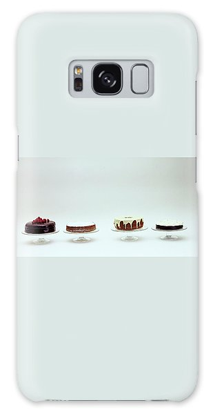 Four Cakes Side By Side Galaxy Case