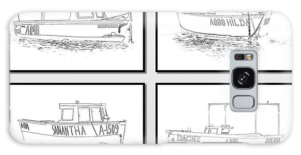 Four Fishing Boats Of Aruba Galaxy Case