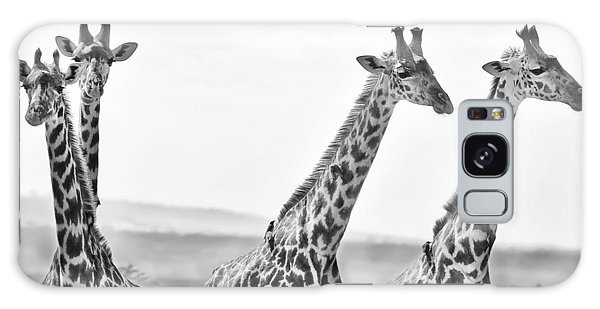 Four Giraffes Galaxy S8 Case