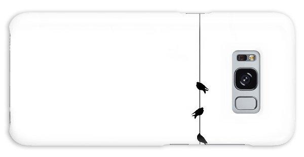 Pigeon Galaxy S8 Case - Four by Klaus Lenzen