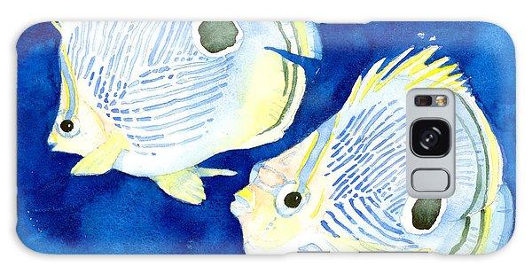 Foureye Butterflyfish Galaxy Case