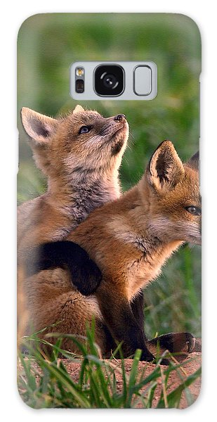 Fox Cub Buddies Galaxy Case
