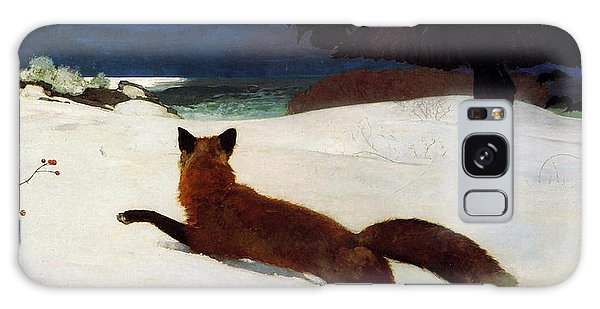 Fox Hunt Galaxy Case by Winslow Homer