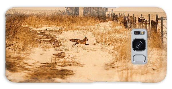 Fox On The Run Galaxy Case by Shirley Heier