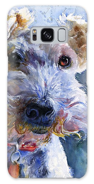 Fox Terrier Full Galaxy Case by John D Benson