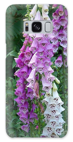 Foxglove After The Rains Galaxy Case by Eunice Miller