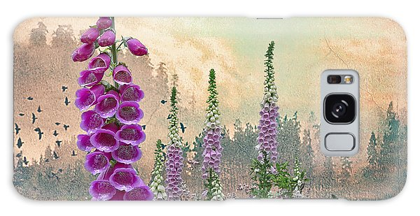 Foxglove In Washington State Galaxy Case