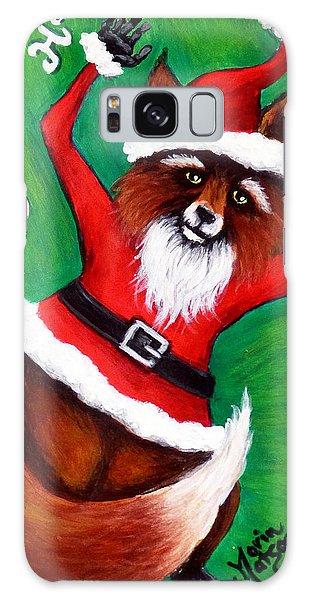 Foxy Santa Galaxy Case