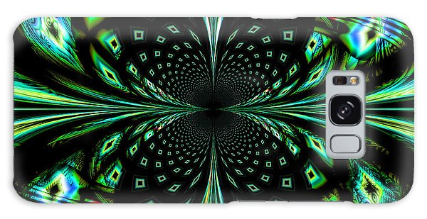 Fractal Galaxy Case by Arlene Sundby