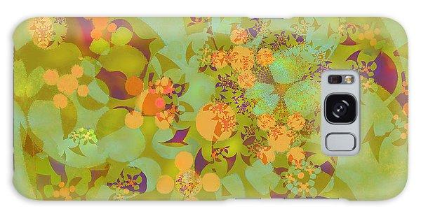 Fractal Blossom 2 Galaxy Case by Ursula Freer