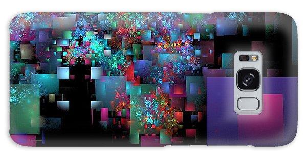 Fractal Confetti Galaxy Case
