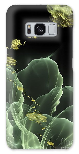 Fractal Flower Galaxy Case by Arlene Sundby