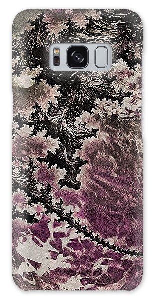 Fractal Moon Galaxy Case by Susan Maxwell Schmidt